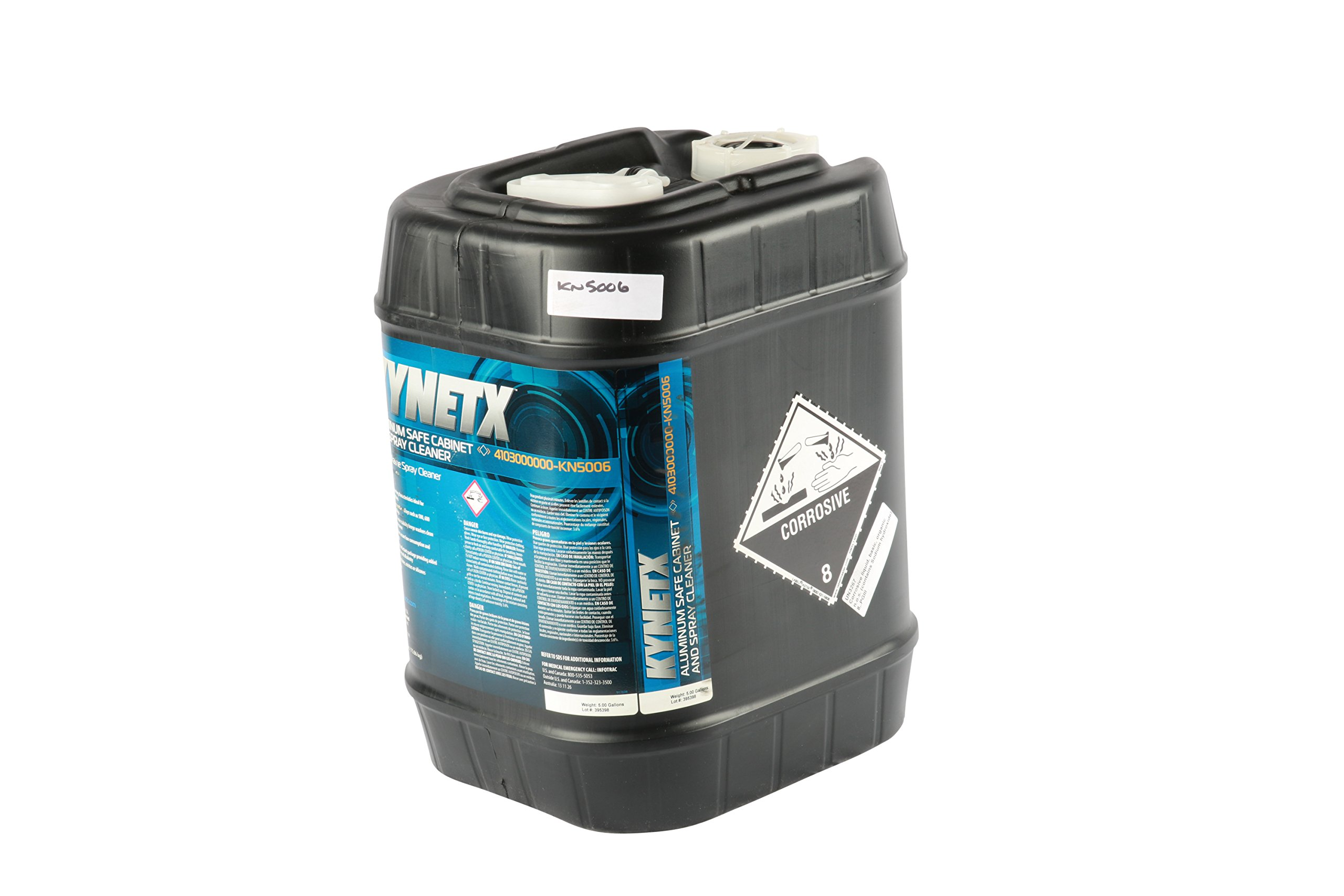Kynetx Alum Safe Cabinet & Spray - 5-Gal Pail, 4103000000-KN5006, Spray Cleaner, Aluminum, Cast Iron, Carbon Steel, Tool Steel, Stainless Steel Cleaner, Low Foaming, Heavy Duty Cleaners
