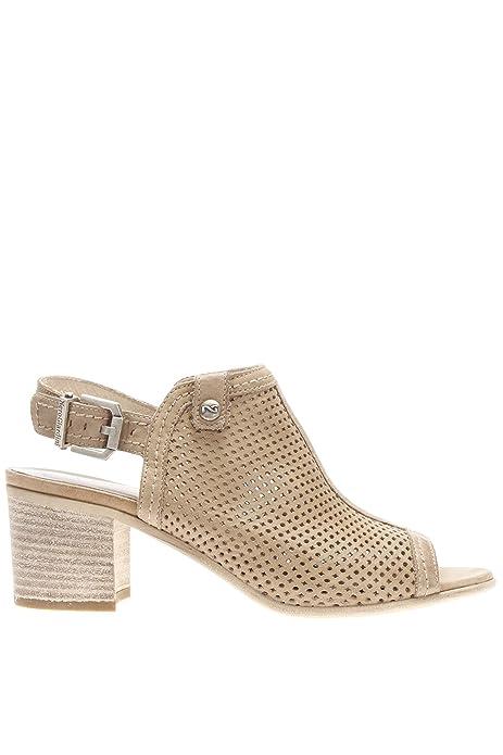BLACK JARDINES 15661 mujeres negras zapatos de la correa de cuero del talón sandalias 36 Venta Ebay Envío gratis Original H7lNYUzmQE