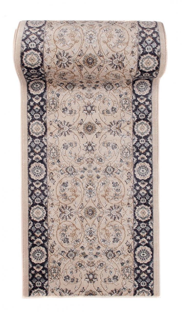 Läufer Läufer Läufer Teppich Flur in Anthrazit Schwarz - Orientalisch Klassischer Muster - Brücke Läuferteppich nach Maß - 100 cm Breit - AYLA Kollektion von Carpeto  - 100 x 225 cm B079YMF9V1 Lufer 137799