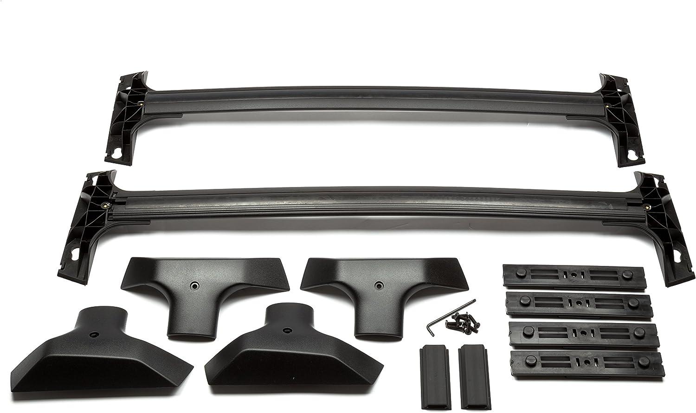 Genuine GM 19243901 T-Slot Roof Rack Cross Rail Package Black