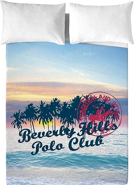 Beverly Hills Polo Club Juego De Sábanas Hawaii Multicolor Cama 90 ...