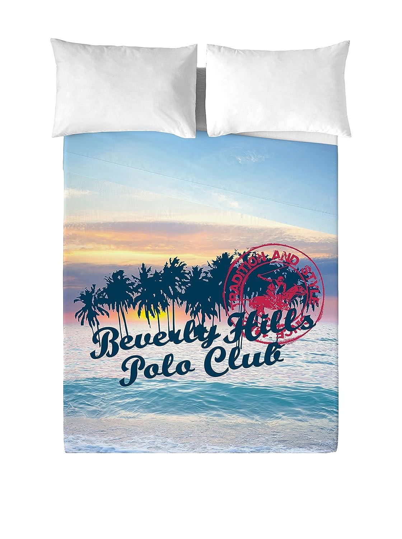 Beverly Hills Polo Club Juego De Sábanas Hawaii Multicolor Cama ...
