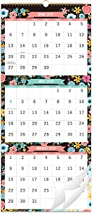 2021-2022 Calendar - 3 Month Display Wall Calendar (Folded in one Month),11.3