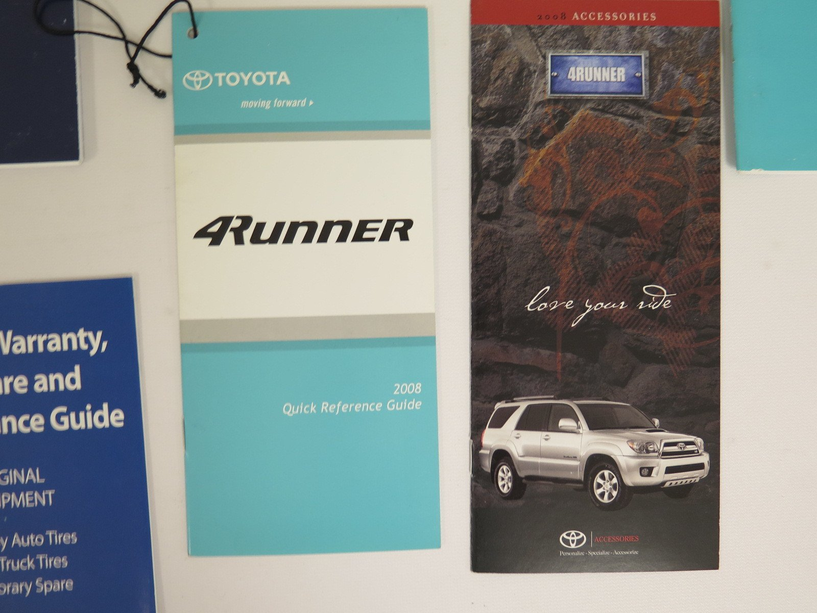 2008 toyota 4 runner owners manual guide book toyota automotive rh amazon com 1986 Toyota Truck 4x4 Interior 2007 toyota 4runner owners manual pdf