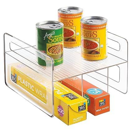 Superbe Amazon.com: InterDesign Kitchen Cabinet Storage Organizer For Aluminum Foil,  Sandwich Bags, Plastic Wrap   Clear: Home U0026 Kitchen