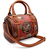 Karactermania Harry Potter Railway Chest (Petit) Sac bandoulière, 25 cm, Marron