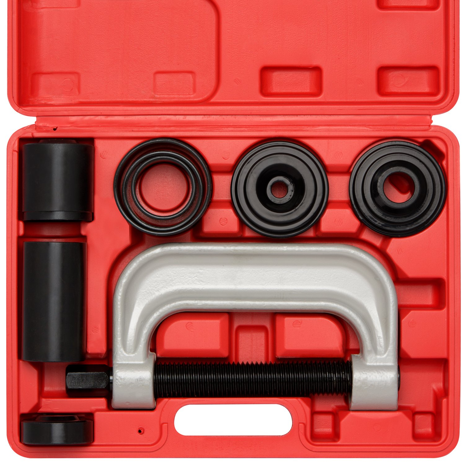 Neiko 20597A Automotive Ball Joint Service Tool Kit, Remove & Install for 2WD & 4WD, 10 Piece Set Ridgerock Tools Inc.
