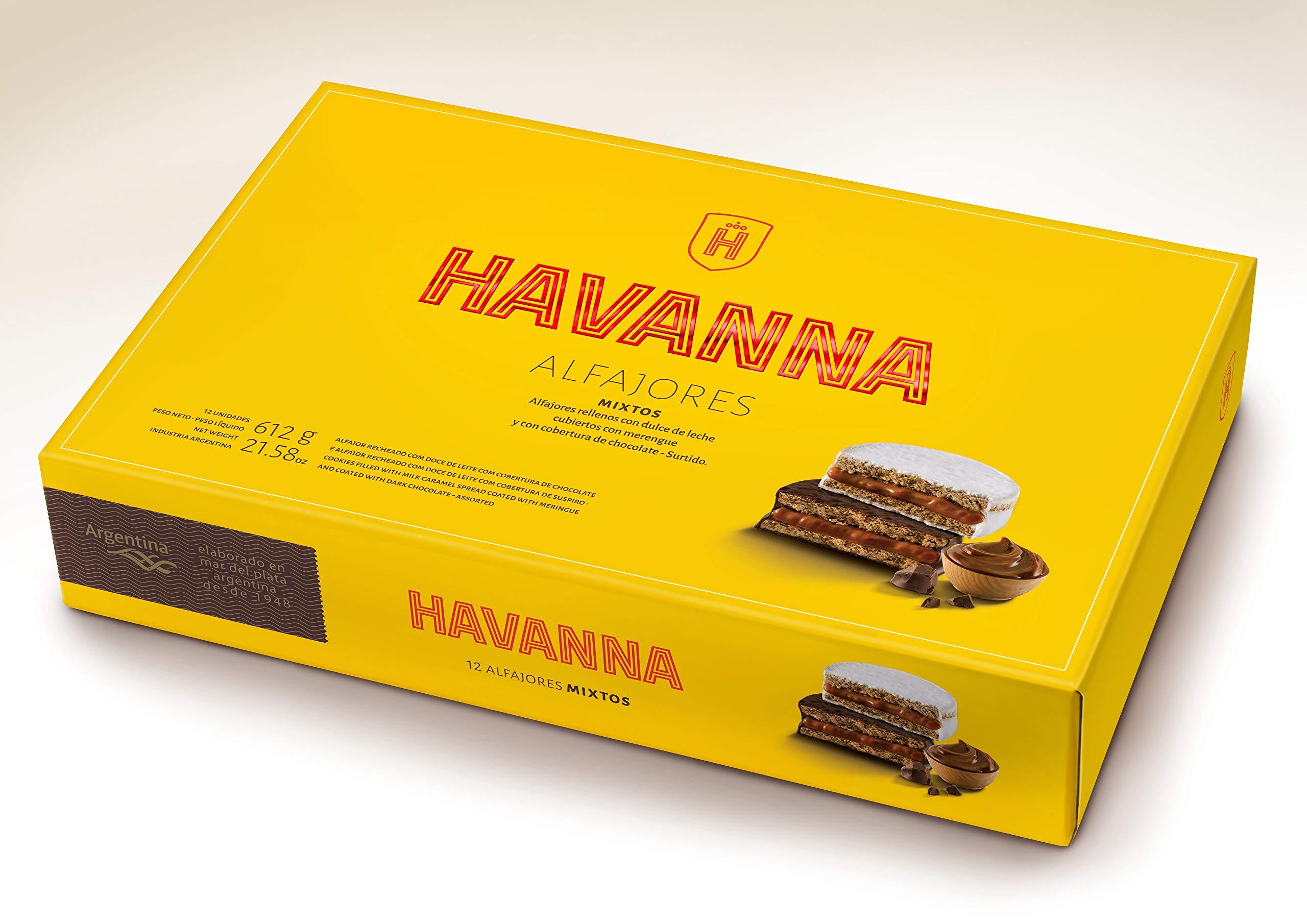 Havanna Alfajores Mixtos x 12 unidades - 612 grams (21.58oz)