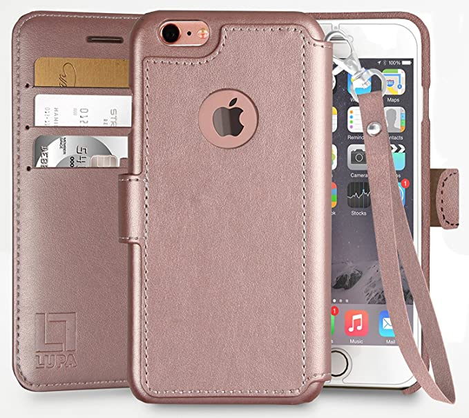 Amazon.com  LUPA iPhone 6S Wallet case 1357bfb44beed