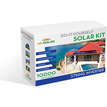 amazon com 10kw solar panels inverter package sale brand new wiring diagram for power inverter 10kw complete diy solar kit 260w watt rec solar panels sma sunnyboy string inverter roof tech rail less racking