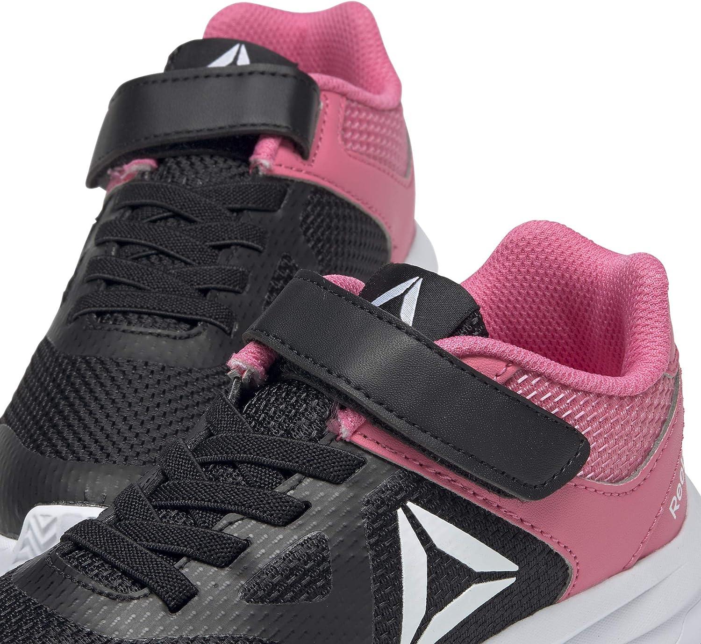 Reebok Rush Runner Alt, Chaussures de Trail Mixte Enfant Multicolore Black Pink 000
