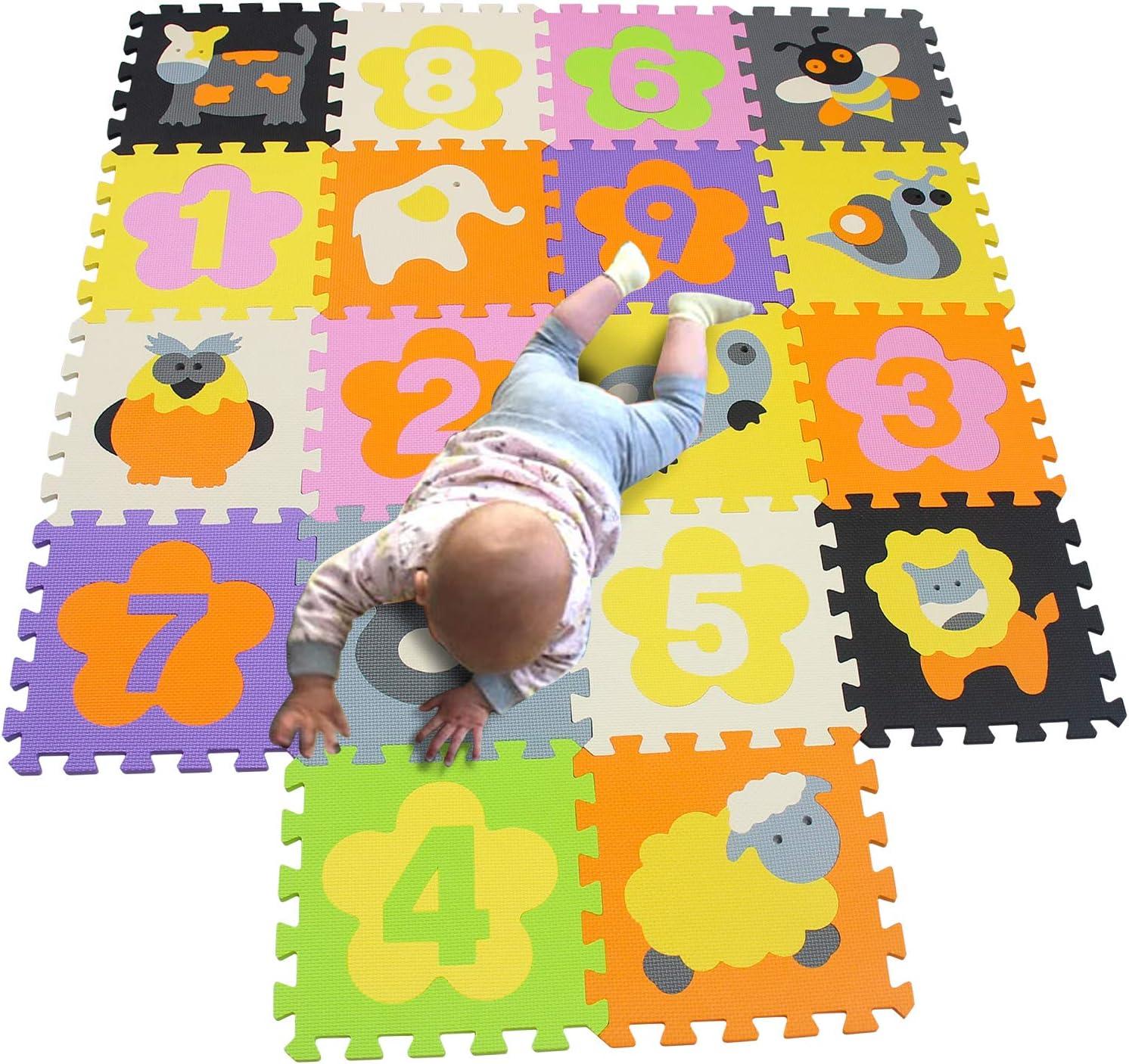 MQIAOHAM alfombra infantil puzzle bebe suelo goma eva parque juego ni/ños foam colchoneta bebes juegos manta para alfombras infantiles zona acolchado juguetes P011CS9G300918