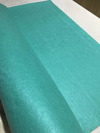 1998d29ac4160 Thick Wool Blend Felt 3mm 1 Yard Cut, Felt Yardage, Wool Felt Fabric, Wool  Felt Kit, (Blue 3)