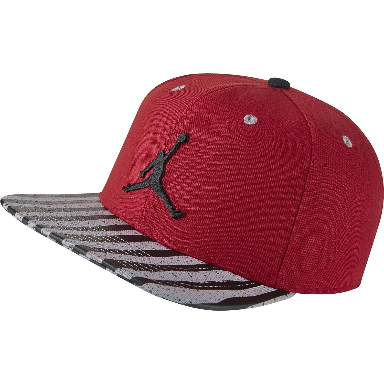 Jordan Jumpman 10 - Gorro Ajustable para Hombre, Color Rojo y ...