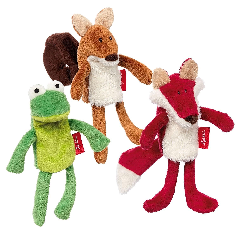 sigikid, Mädchen und Jungen, Fingerpuppenset Farmfreunde, My little theatre, Rosa/Braun/Weiß, 41565 Mädchen und Jungen Rosa/Braun/Weiß Sigikid41565