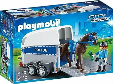 PLAYMOBIL Policía Playset (6922): Amazon.es: Juguetes y juegos