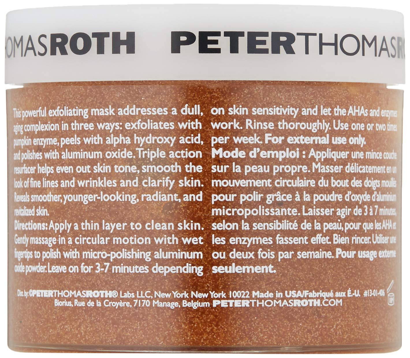 Peter Thomas Roth Pumpkin Enzyme Mask, 5 fl. oz. by Peter Thomas Roth (Image #6)