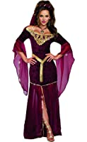 Dreamgirl Women's Medieval Enchantress Royal Maiden Costume