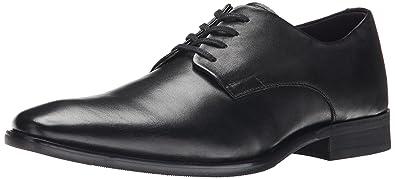 Calvin Klein Men's Ramses Leather Oxford, Black, ...