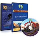 Bike-O-Vision - Virtual Cycling Adventure - Zion National Park - Perfect for Indoor Cycling and Treadmill Workouts - Cardio Fitness Scenery Video (Widescreen DVD #17)