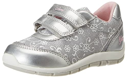 Aclaramiento Populares Para La Buena Línea Sneakers argentate per bambina Geox Shaax Qb27WOW