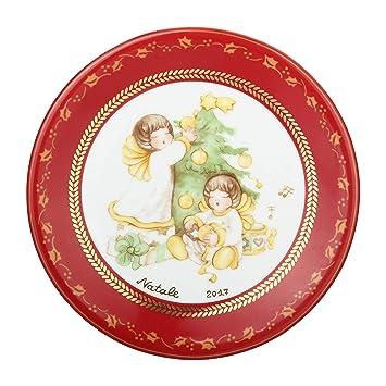 Thun Assiette Dessert Deco Douce Noel Porcelaine 19 Cm O Amazon Fr
