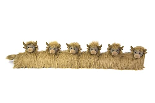 ANGUS HIGHLAND COW - DE97-THE TRADITIONAL RANGE - draught excluders