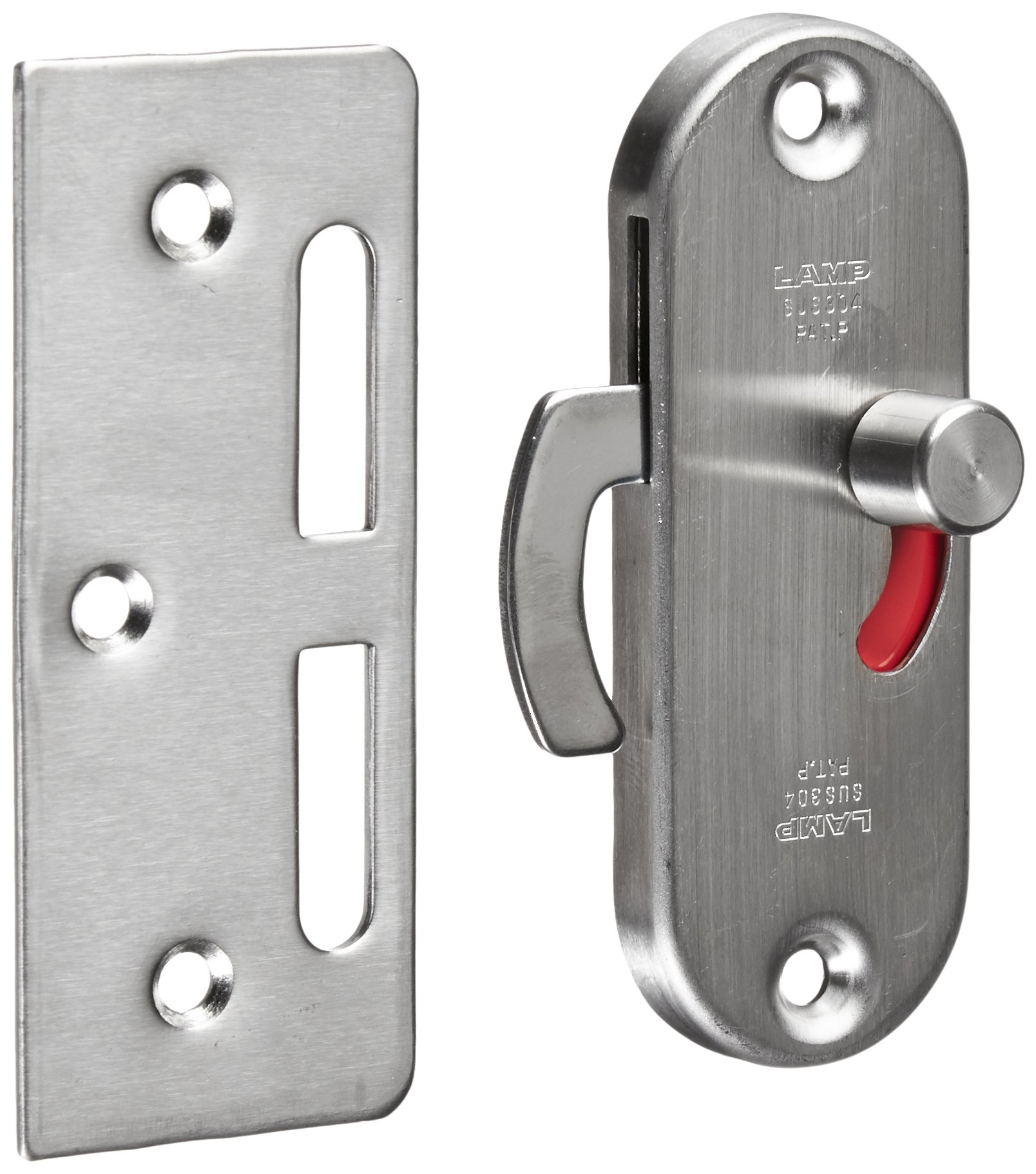 Sugatsune, Lamp HC-85/S Catches and Latches, 304 Stainless Steel, Brass, Satin