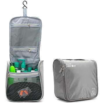 Amazon.com: Resistente al agua bolsa de cosméticos de viaje ...