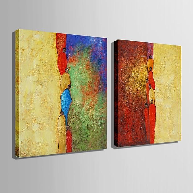Schon EMLYH 100% Handgemalte Ölgemälde Dekoration Einzelmöbel Wohnzimmer Atelier  Serie Gang, 1 50x70cm: Amazon.de: Küche U0026 Haushalt