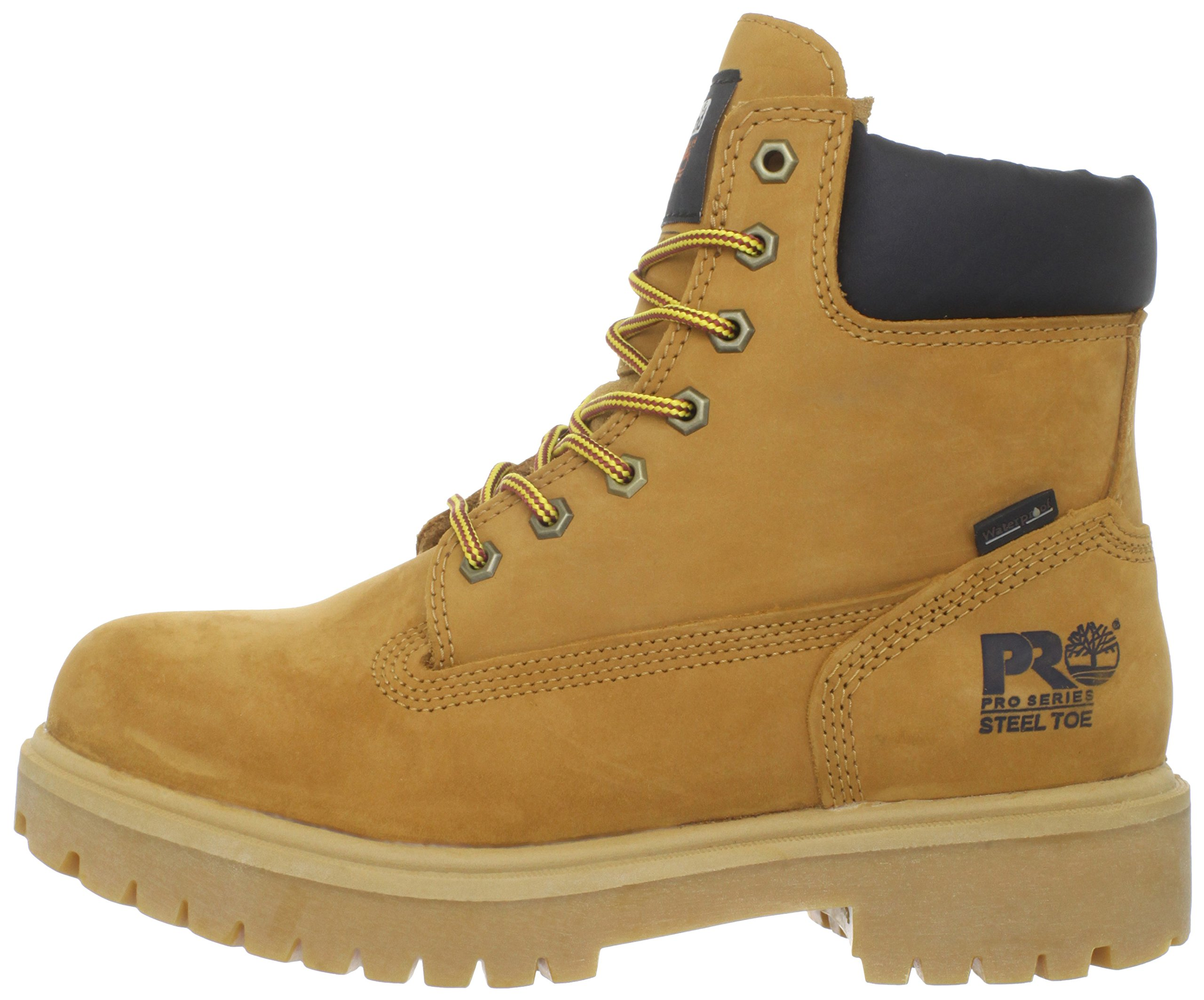 Timberland PRO Men's 65016 Direct Attach 6'' Steel Toe Boot,Yellow,9.5 W by Timberland PRO (Image #5)