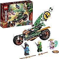 LEGO NINJAGO Lloyd's Jungle Chopper Bike 71745 Building Kit; Ninja Bike Toy Featuring NINJAGO Lloyd and NYA Minifigures…