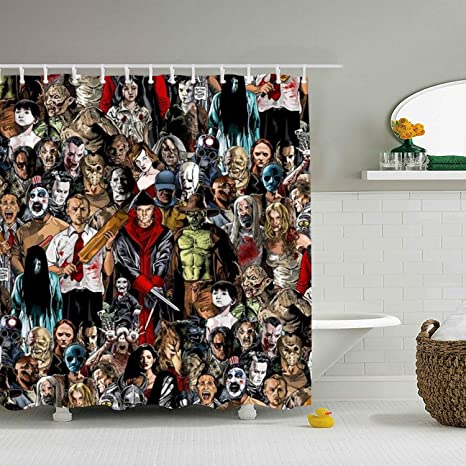 shower curtain horror movie villains