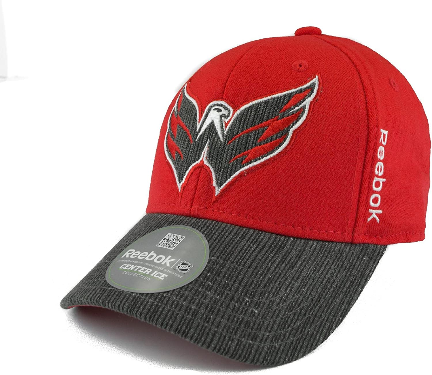 Reebok Washington Capitals Red Travel and Training Fitted Hat (Adult L/XL)