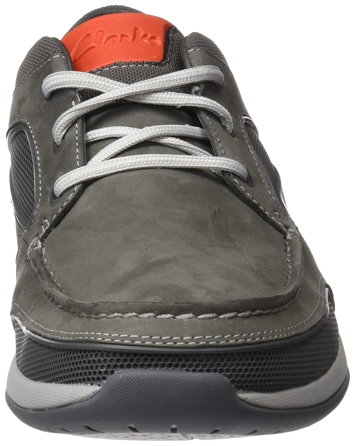 2b2072d697820 Clarks Men's Ormand Sail Dark Grey Nubuck Leather Boat Shoes-6.5  (91261252807065): Buy Online at Low Prices in India - Amazon.in
