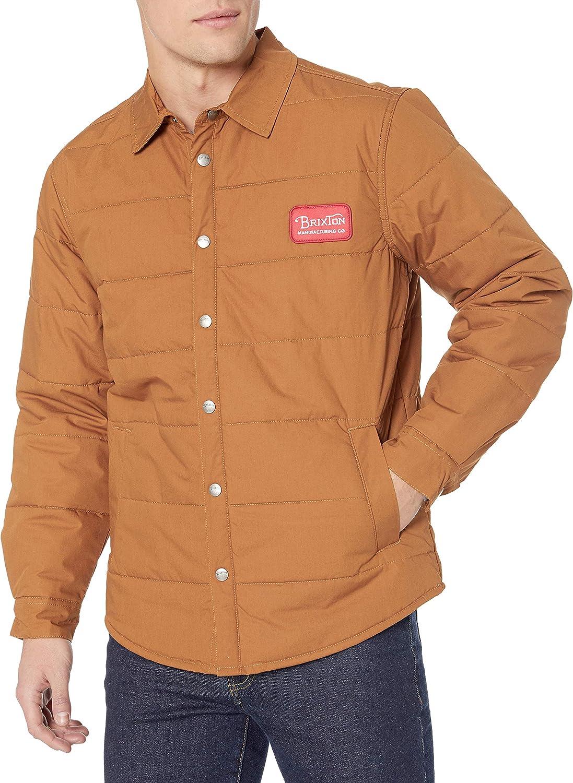Brixton Men's Cass Grade Standard Fit Street Jacket