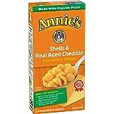 Annie's Macaroni & Cheese, Shells & Real Aged Cheddar, 6 oz