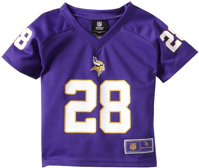 8ca0d3319 NFL Minnesota Vikings Adrian Peterson Toddler Player Replica Jersey ...