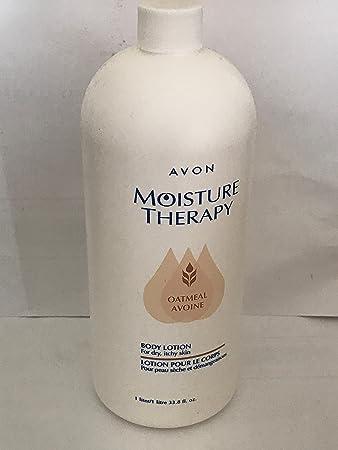 Amazon.com: Avon la humedad terapia avena Loción Corporal ...