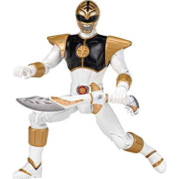 top best Legacy Mighty Morphin Movie 5-Inch White Ranger