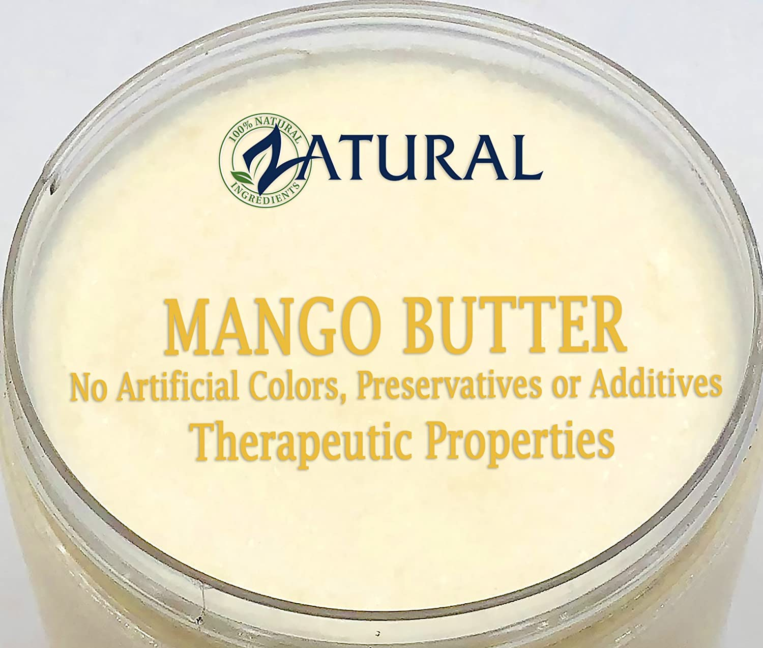 Organic Mango Butter 2 Available Food Cosmetic Image 2
