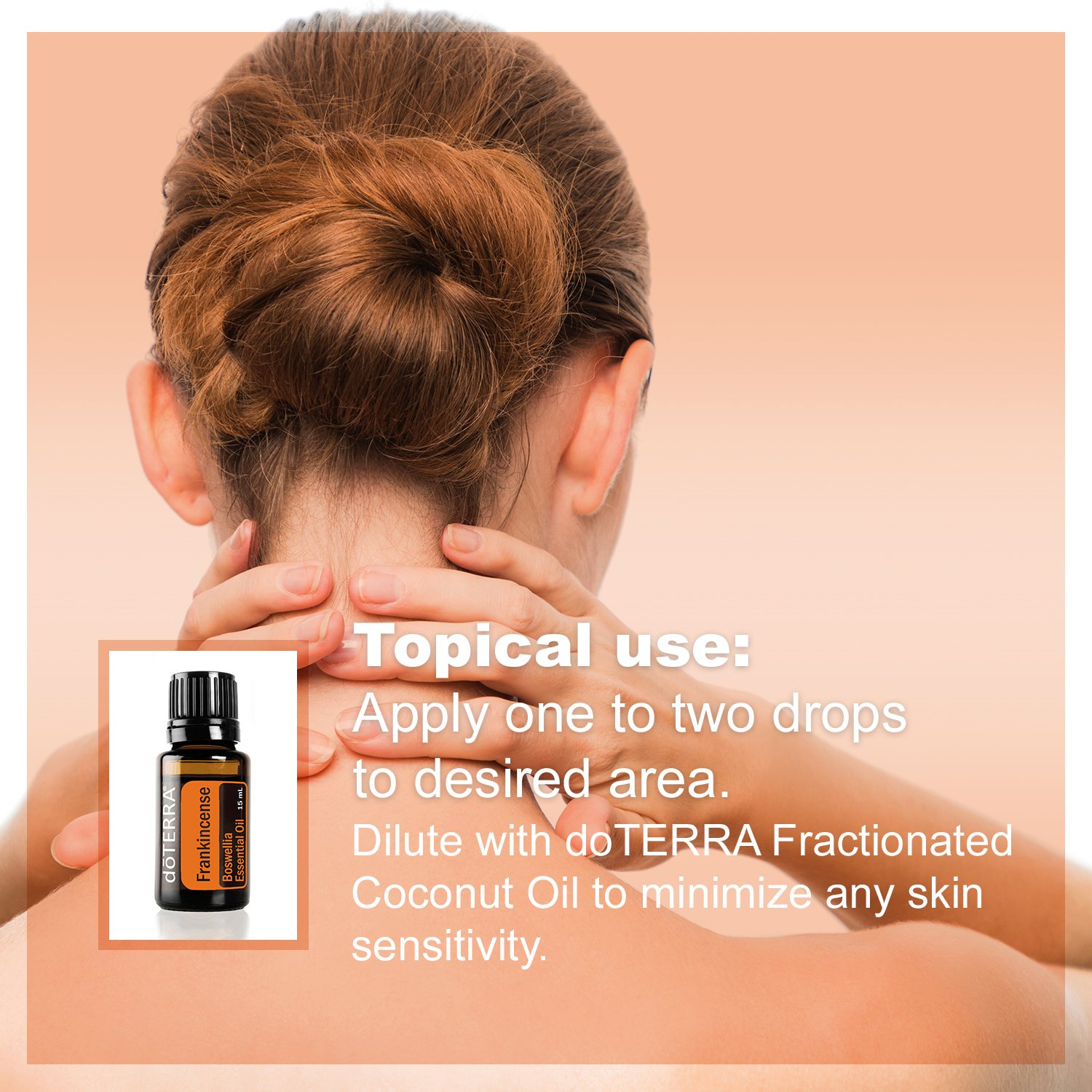 doTERRA Frankincense Essential Oil - Supports Healthy Cellular Function, Aroma Promotes Relaxing Feelings, Supports Healthy Immune and Nervous Function; For Diffusion, Internal, or Topical Use - 15 ml by DoTerra (Image #6)