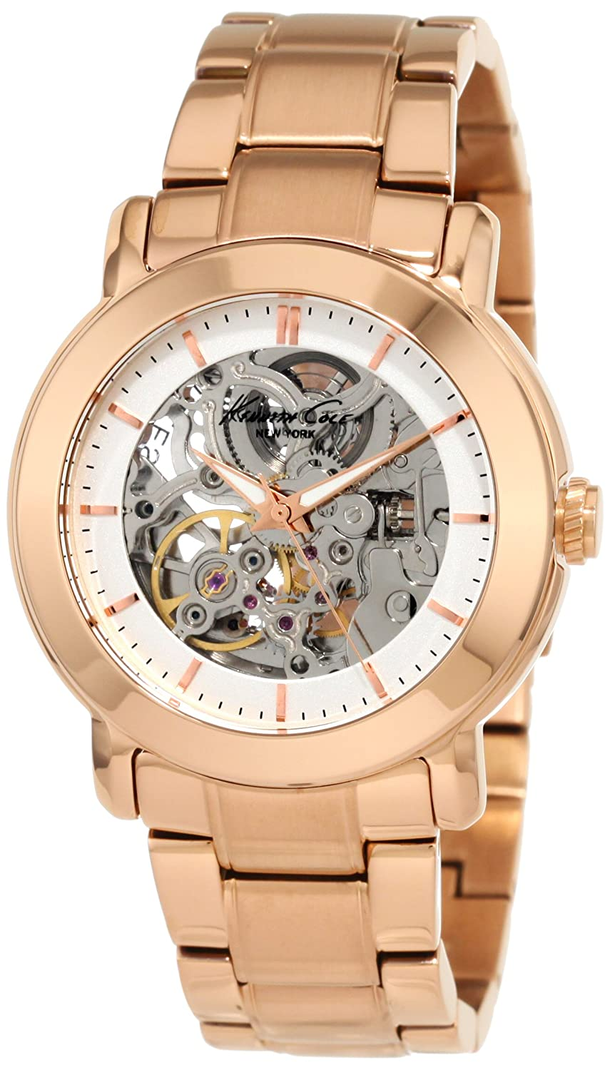 Amazon.com: Kenneth Cole New York Women\'s KC4758 Rose Gold Ion ...
