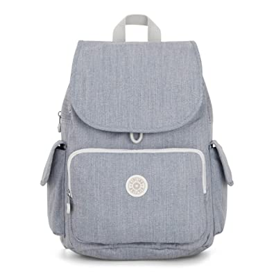 c2bf6854e1b0 Amazon.com: Kipling City Pack Backpack One Size Blue Weave: Shoes