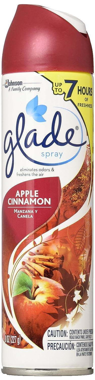 Glade Aerosol Spray Air Freshener Apple Cinnamon Pack of 3