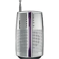Grundig City 31便携式铬合金收音机(FM / AM调谐器)