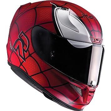 HJC Rpha 11 Spiderman casco de moto, R1SRXS, rojo
