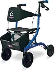 Airgo Excursion X20 Rollator and Walker - Standard Height (Pacific Blue)