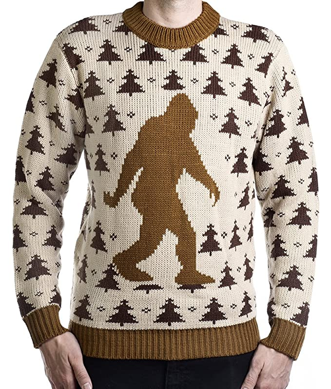 Bigfoot Sasquatch Sweater