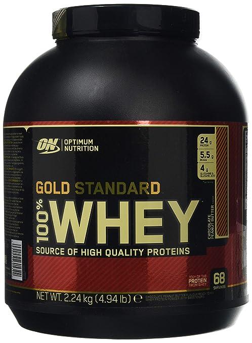 931dfe963 Optimum Nutrition Gold Standard Whey Protein Powder with Glutamine and  Amino Acids Protein Shake - Chocolate